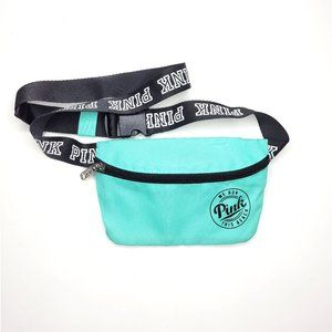 Victoria's Secret Pink Teal Beach Fanny Pack NEW